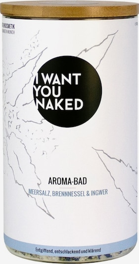I Want You Naked Aroma-Bad 'Meersalz, Brennessel & Ingwer' in beige, Produktansicht