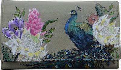 ANUSCHKA Brieftasche 'Regal Peacock' in mischfarben, Produktansicht