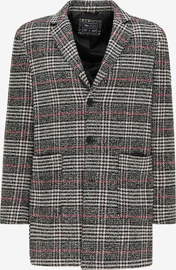 MO Prechodný kabát - grenadínová / čierna / biela, Produkt