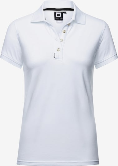 CODE-ZERO Poloshirt in weiß, Produktansicht