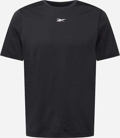 Reebok Sport Sportshirt in schwarz / weiß, Produktansicht