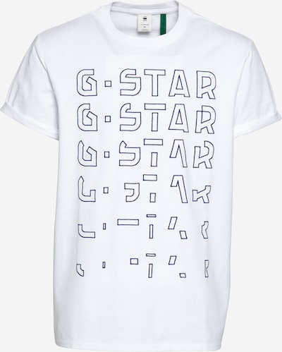G-Star RAW Tričko 'Embro' - tmavomodrá / biela, Produkt