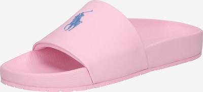 POLO RALPH LAUREN Mule 'CAYSON' en bleu clair / rose, Vue avec produit