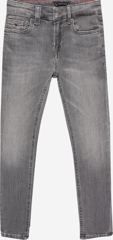 TOMMY HILFIGER Jeans 'Simon' in Grau