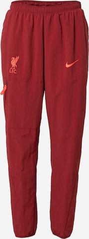 NIKE Παντελόνι φόρμας 'Liverpool FC' σε κόκκινο