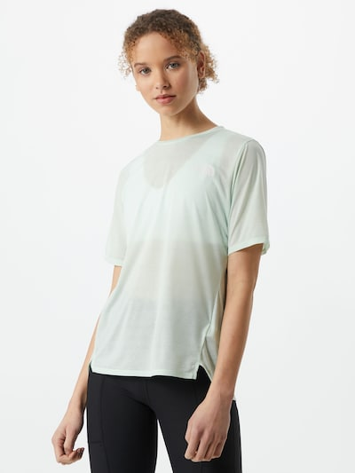 THE NORTH FACE T-Shirt in mint / weiß: Frontalansicht