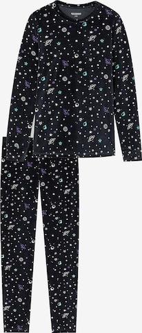 SCHIESSER Schlafanzug in Schwarz