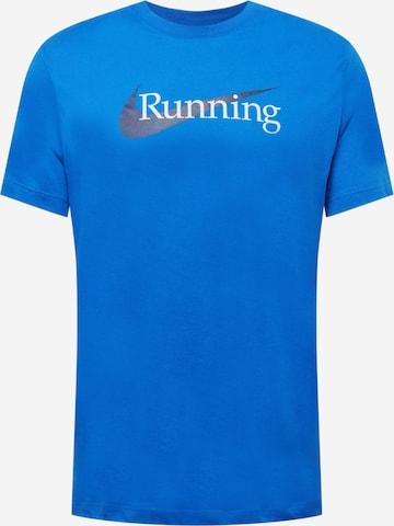 NIKE Sportshirt in Blau
