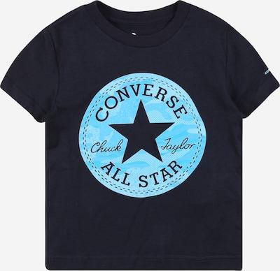 CONVERSE Shirt 'JUNGLE' in de kleur Navy / Aqua, Productweergave