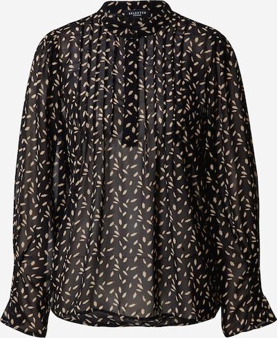 SELECTED FEMME Blouse in de kleur Poederroze / Zwart, Productweergave