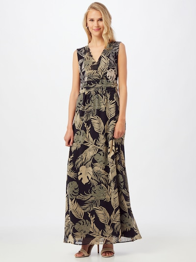 MORE & MORE Dress in Beige / Grass green / Black, View model