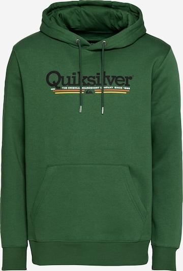 QUIKSILVER Sweatshirt in gelb / grasgrün / orange / schwarz / weiß, Produktansicht
