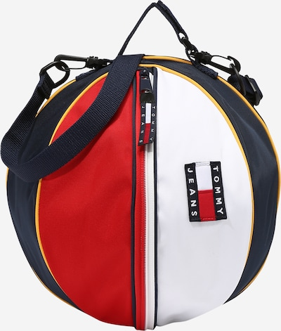 Tommy Jeans Torba na ramię 'HERITAGE BALL' w kolorze granatowy / pomarańczowy / czerwony / białym, Podgląd produktu