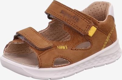 SUPERFIT Sandale 'Lagoon' in karamell / gelb / weiß, Produktansicht