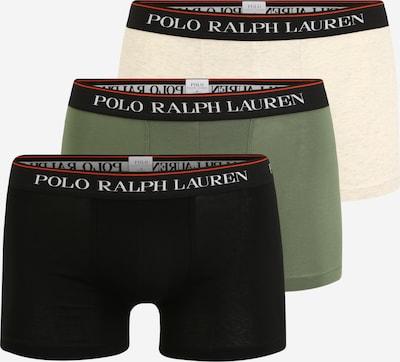 POLO RALPH LAUREN Boxershorts in beige / grün / schwarz / weiß, Produktansicht