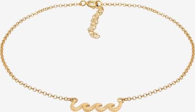 ELLI Fußschmuck Wellen in gold, Produktansicht