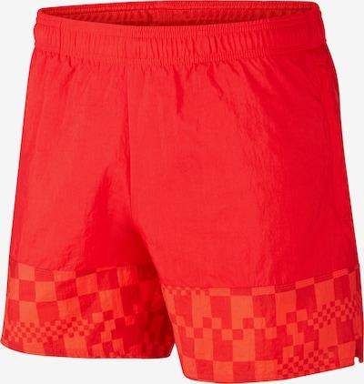 NIKE Sporthose in orange / hellrot / schwarz, Produktansicht