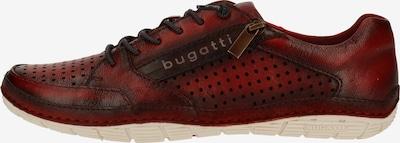 bugatti Športni čevlji z vezalkami | rjava / rdeča barva, Prikaz izdelka