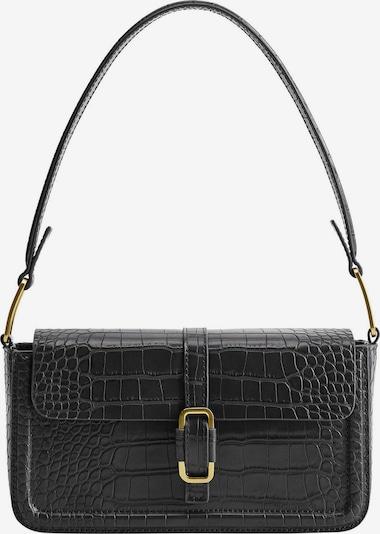 MANGO Schoudertas 'Freya' in de kleur Zwart, Productweergave