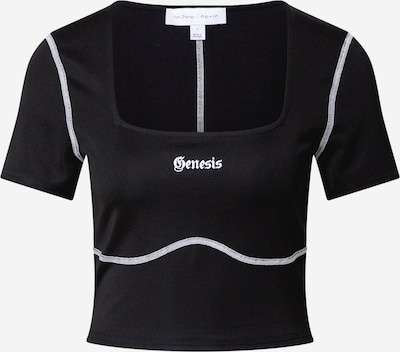 NU-IN Shirt in schwarz / weiß, Produktansicht