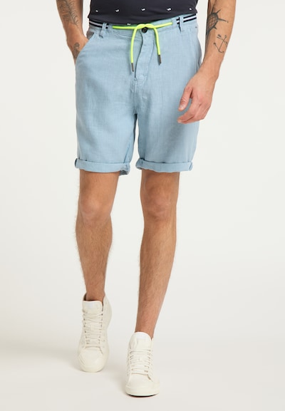 Petrol Industries Shorts in hellblau, Modelansicht