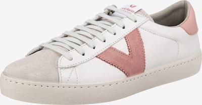 VICTORIA Sneaker 'Berlin' in nude / rosé / weiß, Produktansicht