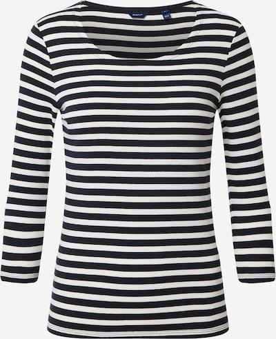 GANT T-shirt en bleu foncé / blanc, Vue avec produit