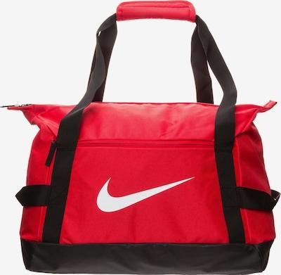 NIKE Sporttasche 'Academy Team' in rot / schwarz / offwhite, Produktansicht
