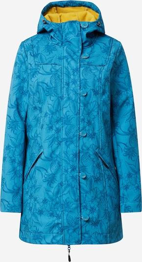 Blutsgeschwister Functionele mantel 'Wild Weather' in de kleur Blauw / Geel, Productweergave
