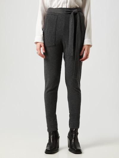 LeGer by Lena Gercke Pantalon 'Lou' en gris chiné, Vue avec modèle