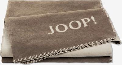 JOOP! Deken in de kleur Crème / Lichtbruin, Productweergave