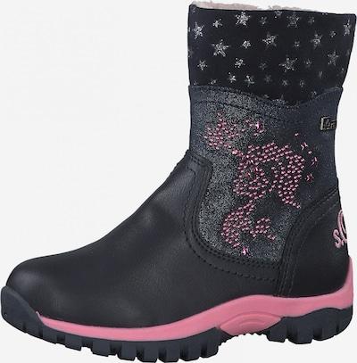 s.Oliver Bottes de neige en bleu marine / rose, Vue avec produit