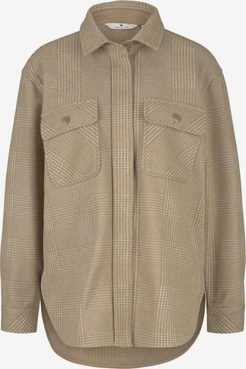 TOM TAILOR Jacke in beige / braun, Produktansicht