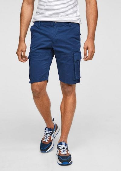 s.Oliver Cargobroek in de kleur Blauw, Modelweergave