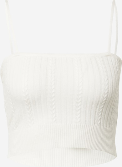 Cotton On Knitted top 'Ultimate' in White, Item view