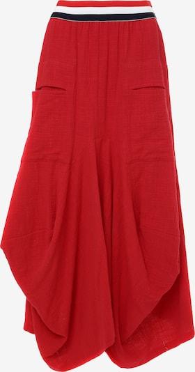 Madam-T Rok 'DANIA' in de kleur Rood, Productweergave