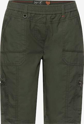 CECIL Shorts in Grün