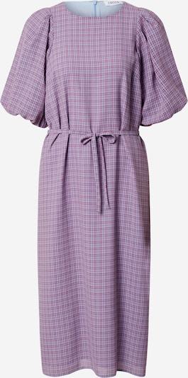 EDITED Robe 'Tessa' en bleu marine / violet / rouge, Vue avec produit