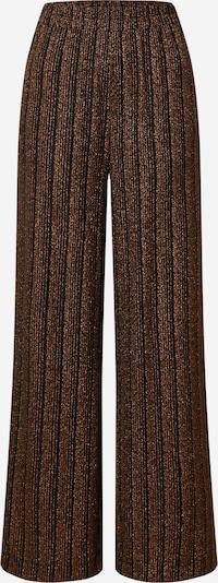 EDITED Broek 'Dahlia' in de kleur Brons / Zwart, Productweergave