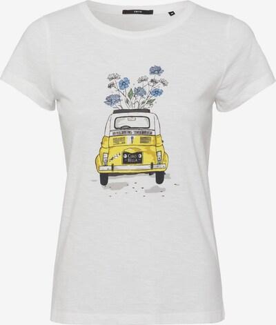 zero Shirt in mischfarben / weiß, Produktansicht