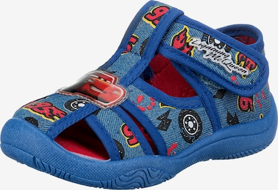 Disney Cars Sandale in navy / gelb / feuerrot / schwarz / weiß, Produktansicht