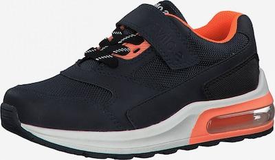 s.Oliver Sneaker in navy / lachs / neonorange, Produktansicht