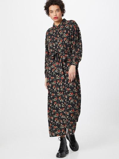 Brava Fabrics Blousejurk 'Dalia' in de kleur Gemengde kleuren / Zwart, Modelweergave