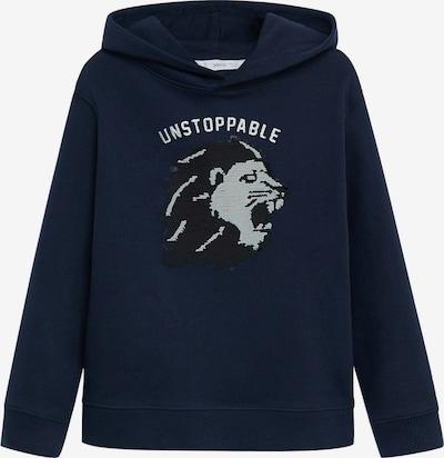 MANGO KIDS Sweatshirt  'Albert 8' in navy / grau, Produktansicht