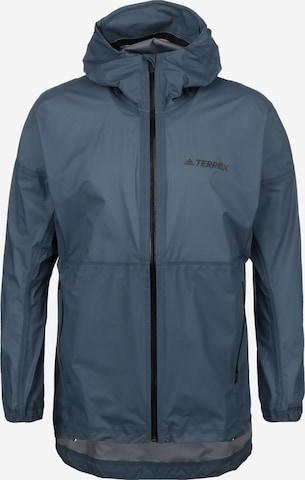 Veste outdoor adidas Terrex en bleu