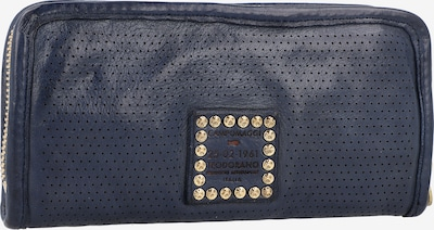 Campomaggi Geldbörse Leder 21 cm in navy, Produktansicht