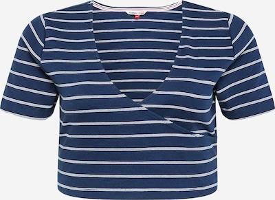 Tommy Jeans Curve T-shirt en bleu marine / blanc, Vue avec produit