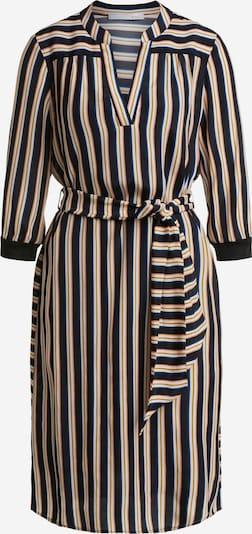 OUI Blusenkleid in dunkelgelb / schwarz / weiß, Produktansicht