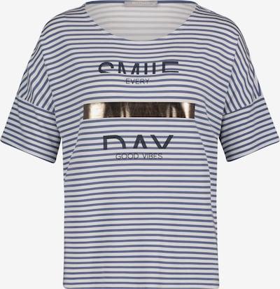 Betty & Co Shirt in marine / weiß, Produktansicht