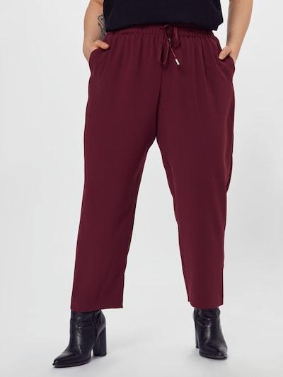 River Island Plus Kalhoty - tmavě červená, Model/ka